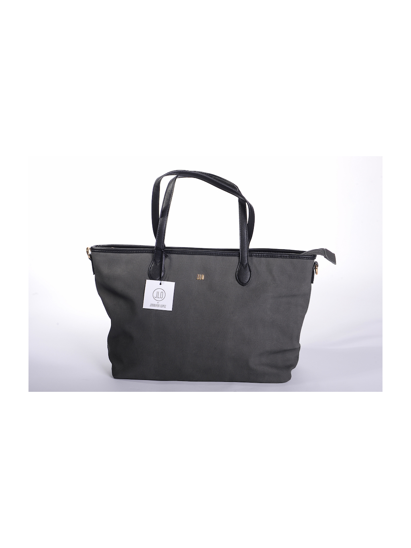60baa8b6ea jennifer lopez jlo čierna farba elegantná dámska kabelka cestovná taška  zlatá eko koža
