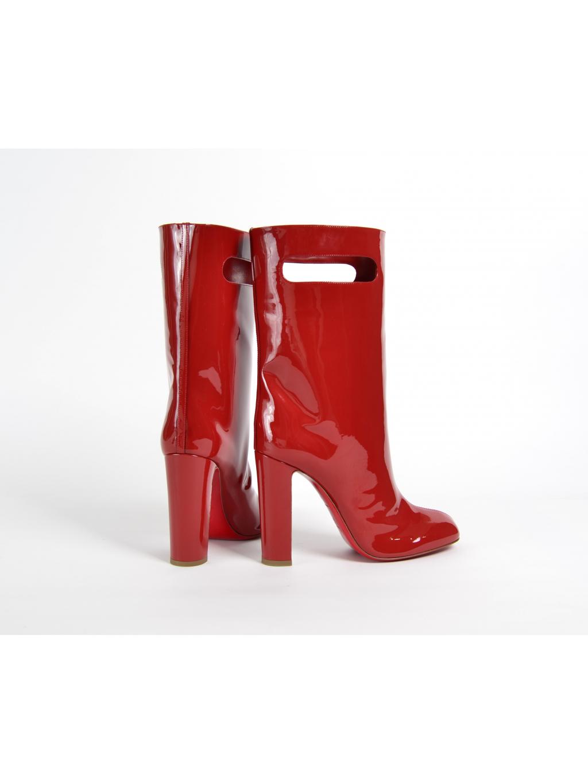 ... christian louboutin bag bootie tomette patent 3170849 dámske čižmy  červené (2) ... 42cf22f3d09