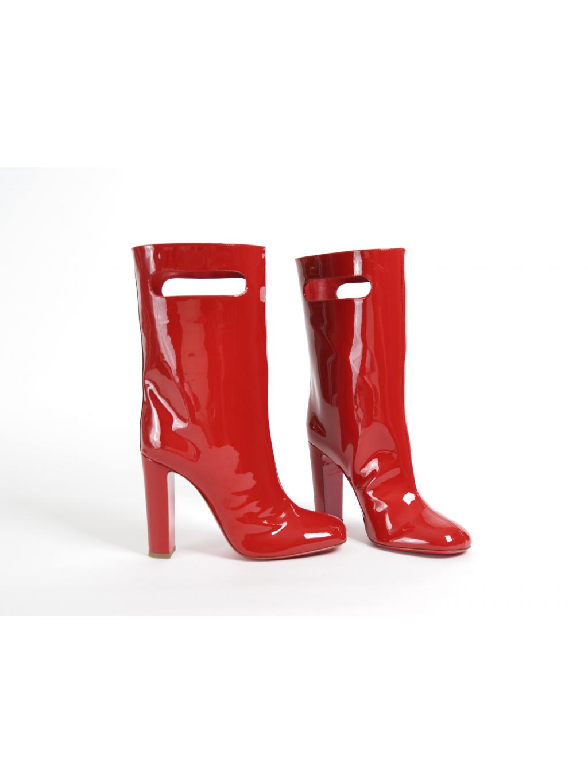 ... christian louboutin bag bootie tomette patent 3170849 dámske čižmy  červené (1) ... cdb7db6c9ef