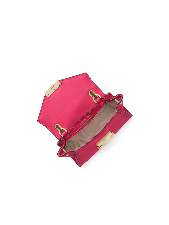 ... michael kors whitney rose gold mini dámska kabelka crossbody (1) ... 212acd20425