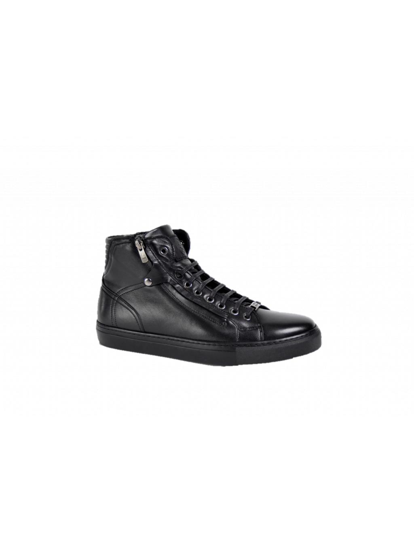 ROBERTO SERPENTINI Nero pánske členkové topánky oteplené - Luxusný ... a07e3b47e3c
