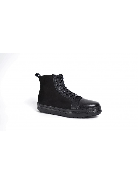 0922eec9d9 ROBERTO SERPENTINI nero pánske topánky s kožušinou - Luxusný Darček