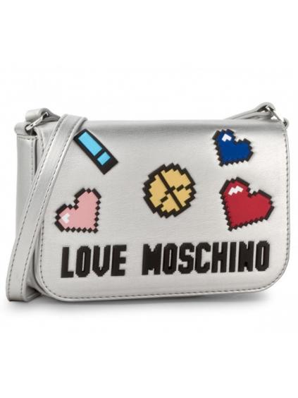 Love Moschino Soft sivá