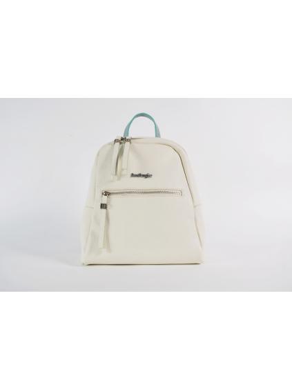 sara burglar cherie london 220 damsky batoh ruksak biely zeleny (2)