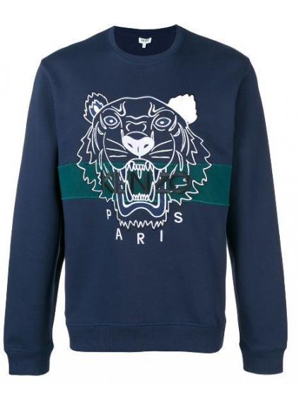 kenzo urban tiger sweatshirt 5SW0784XF78 ink blu panska mikina modra (1) 8f6721aaec6