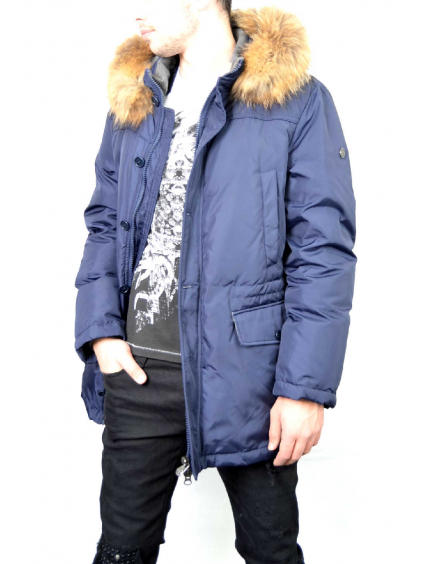 Brooksfield Piumini pánska zimná bunda